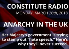 CONSTITUTE RADIO: Anarchy in the UK